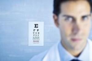 -изследване на зрителна острота /визус/